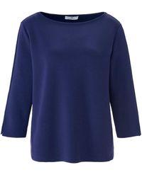 Peter Hahn Sweatshirt u-boot-ausschnitt - Blau