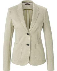Windsor. Le blazer 100% coton taille 36 - Vert