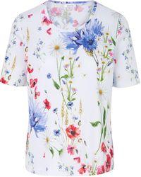 efixelle - Rundhals-Shirt mehrfarbig - Lyst