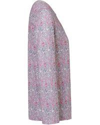 Hautnah Schlafanzug aus 100% Baumwolle mehrfarbig - Lila