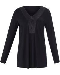 Emilia Lay Shirt - Schwarz