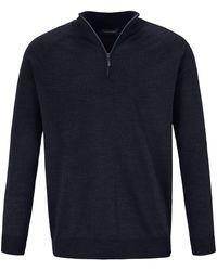 Louis Sayn Pullover blau
