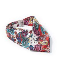 Roeckl Sports Stirnband aus 100% seide - Rot