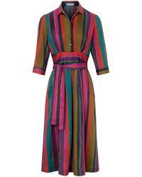 St. Emile La robe manches 3/4 taille 40 - Multicolore