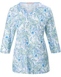 Hautnah Le pyjama 100% coton taille 52 - Bleu