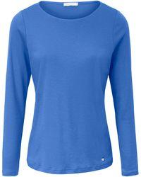 efixelle - Shirt aus 100% Baumwolle blau - Lyst