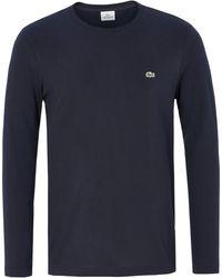 Lacoste Le t-shirt 100% coton taille 48 - Bleu