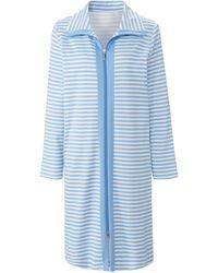 RÖSCH La robe chambre avec 2 poches ouvertes taille 38 - Bleu