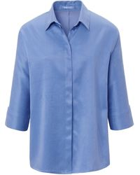 DAY.LIKE Le chemisier manches 3/4 taille 38 - Bleu