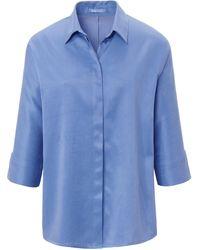 DAY.LIKE Bluse 3/4-arm - Blau