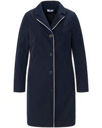 Anna Aura Le manteau 3/4 ligne légèrement cintrée taille 42 - Bleu