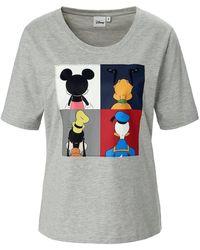 Disney Rundhals-shirt 1/2-arm - Grau
