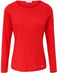 efixelle - Shirt aus 100% Baumwolle rot - Lyst