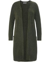 Emilia Lay Le manteau maille taille 44 - Vert