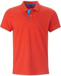 GANT Polo-shirt - Rot