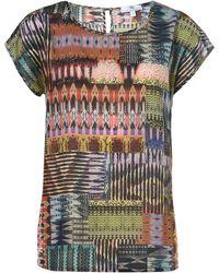 Peter Hahn Le t-shirt 100% coton taille 52 - Multicolore