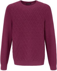 Louis Sayn Rundhals-Pullover pink - Lila