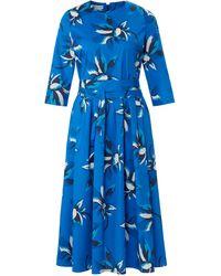 St. Emile La robe manches 3/4 taille 40 - Bleu
