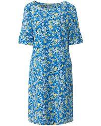 Uta Raasch La robe manches courtes taille 38 - Bleu