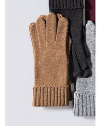 Peter Hahn Cashmere Handschuh aus 100% premium kaschmir - Braun