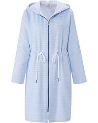 Peter Hahn Le peignoir 100% coton taille 46 - Bleu