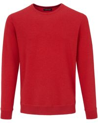 Louis Sayn Rundhals-pullover - Rot