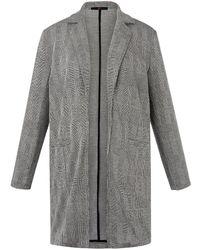 Emilia Lay Long-blazer - Grau