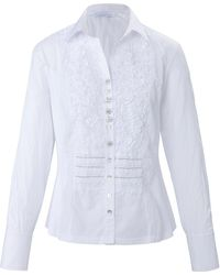 just white Le chemisier manches longues taille 48 - Blanc