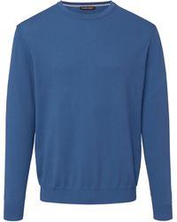 Louis Sayn Pullover aus 100% baumwolle pima cotton - Blau