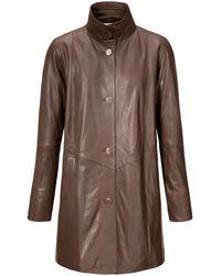 Peter Hahn Le manteau taille 24 - Marron