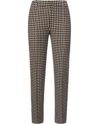 Uta Raasch Le pantalon ligne slim taille 20 - Multicolore