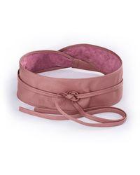 Uta Raasch Gürtel aus 100% Leder rosé - Pink