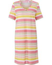 RÖSCH Le maxi t-shirt 100% coton taille 44 - Rose
