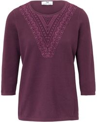 Peter Hahn - Le pull manches 3/4 - Lyst