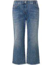Samoon Le jean coupe lotta taille 56 - Bleu