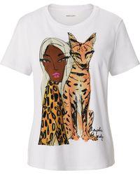 Marc Cain Le t-shirt 100% coton taille 36 - Multicolore