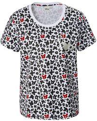 Disney Rundhals-shirt 1/2-arm - Schwarz