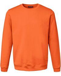 Louis Sayn Le sweat-shirt 100% coton taille 50 - Orange