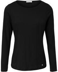 efixelle Le t-shirt manches longues 100% coton taille 38 - Noir