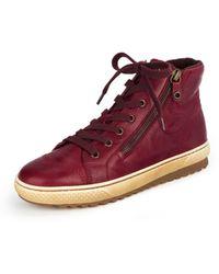 Gabor Knöchelhoher sneaker - Rot