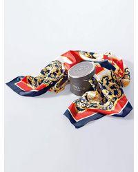 Codello Tuch aus 100% seide - Blau