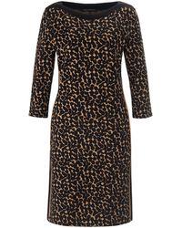 Betty Barclay Jersey-kleid u-boot-ausschnitt - Schwarz