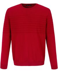 Louis Sayn Rundhals-Pullover rot