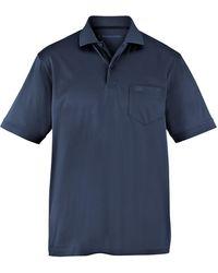 E.Muracchini Polo-Shirt blau