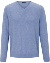 Louis Sayn V-pullover - Blau