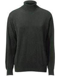 Peter Hahn Cashmere Pullover aus 100% premium-kaschmir modell roland - Grün