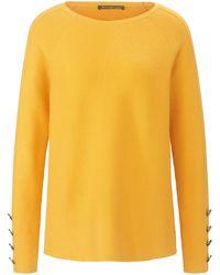 Betty Barclay Rundhals-pullover - Gelb