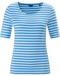 GANT Rundhals-shirt - Blau