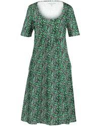 Green Cotton Kleid 1/2-arm aus 100% baumwolle - Grün