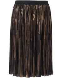 Emilia Lay La jupe plissée à ceinture élastiquée taille 44 - Noir